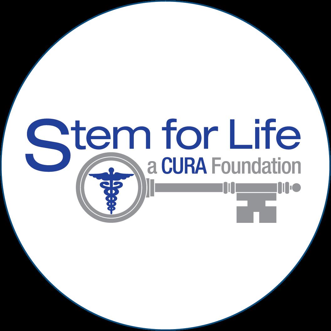 Stem for Life, a Cura Foundation Logo